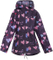 Kids Children Boys Girls Raincoat Festival Showerproof Rain Coat Fishtail Festival Parka Hooded Lightweight Shower Proof Jacket