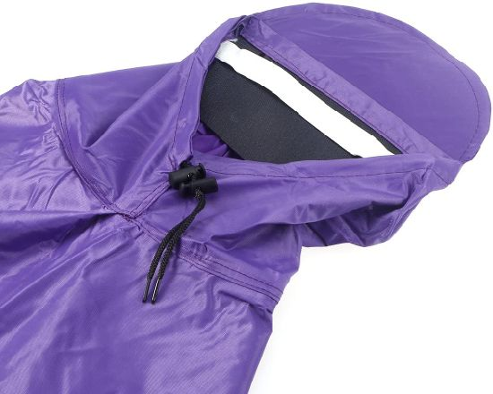 Men Women Cycling Bicycle Bike Rain Cape Poncho Hooded Windproof Rain Poncho Mobility Scooter Cover Outdoor Camping Tent Mat with Transparent Poncho