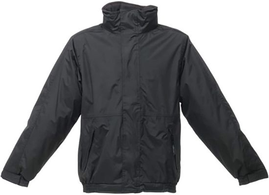 Waterproof Windproof Jacket (Thermo-Guard Insulation) (4XL) (Black/Ash)