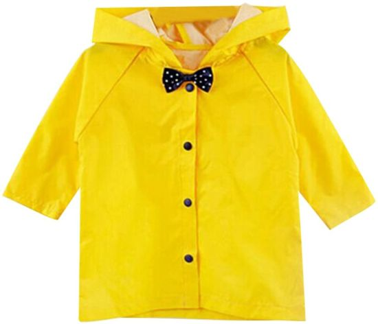 Children Poncho Thick Nylon Kids Raincoat