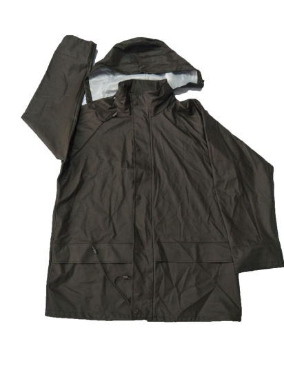 High Quality PU Working Rain Coat Suit