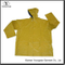 Yellow Rain Slicker Waterproof PVC Raincoat Men Breathable Rain Jacket