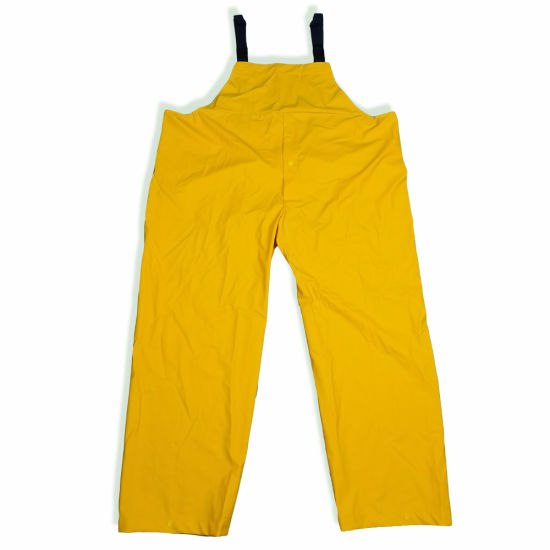 Unisex Raincoat Set Suspenders Sanitation Clothing Outdoor Mountaineering Camping Windproof Suit