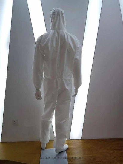 Disposable Sterile Virus Safety Suits Protective Clothing