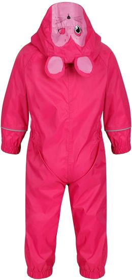 Girl′s Charco All-in-One Suit Raincoat