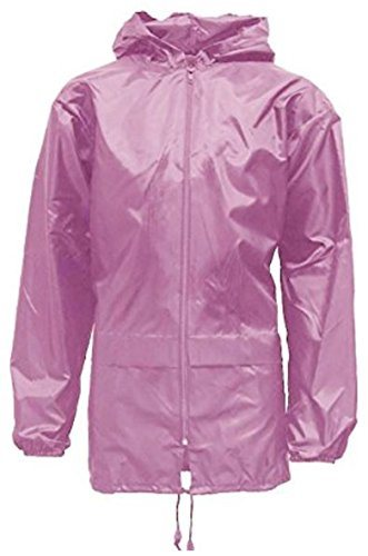Kids Pack a Mac Rain Jacket Kagool Coat Cagoule Age 4~16