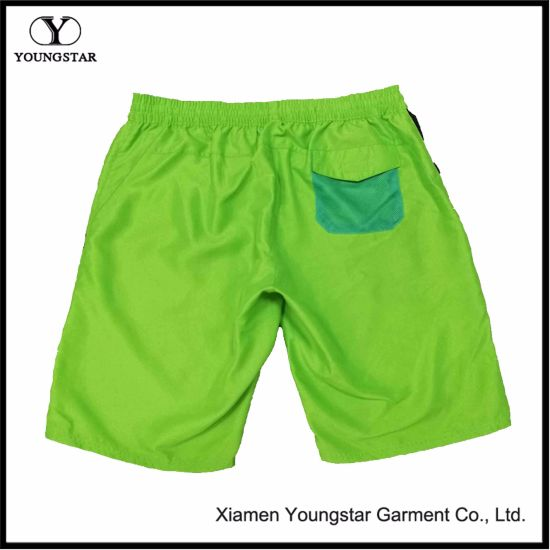 Style Green Shorts Boy Menswear